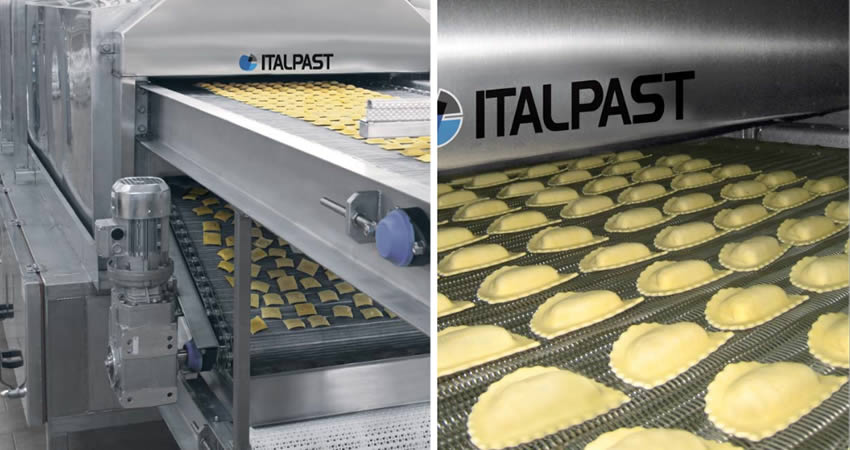 Pasta thermal treatment units